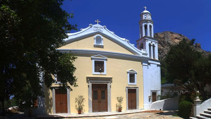 Cathedral Lady of Rosary, Tinos island, Greece