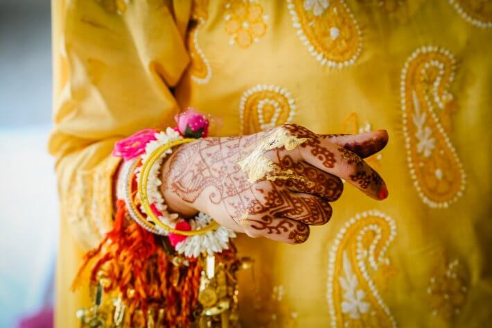 Indian bridal jewelry in Greece
