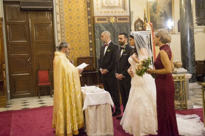 Maronite wedding in Athens Greece