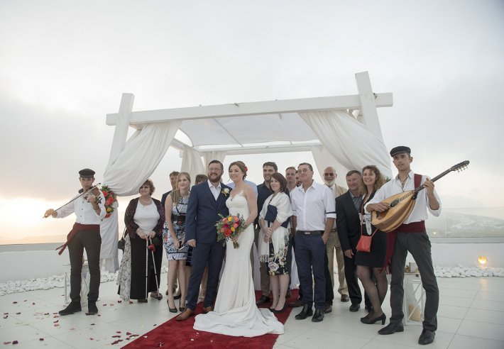 Wedding planner santo wines, Greece