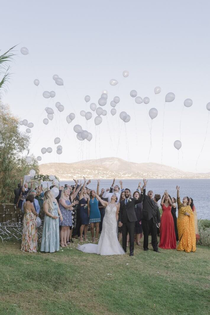 Wedding Ceremony Option That Fills the Sky with balloons