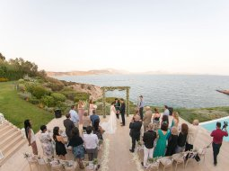 Island art and taste wedding ceremony, Athens, Greece