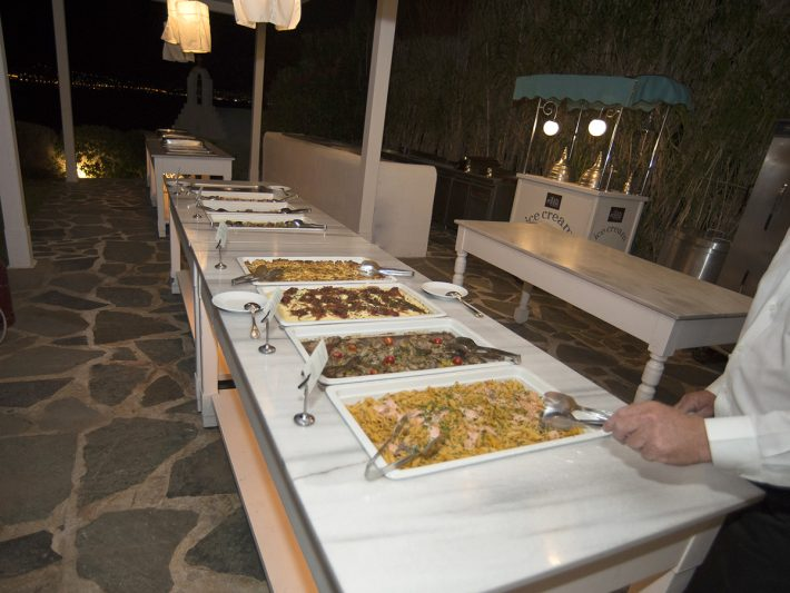 Arab wedding buffet greece