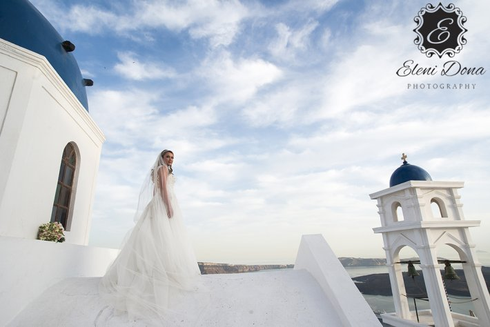 Santorini anastasi wedding photo Greece