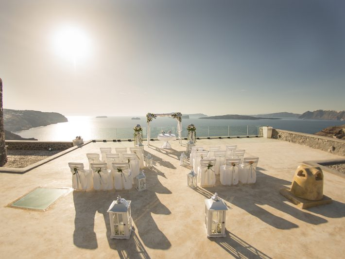 santorini wedding venue for Lebanese wedding
