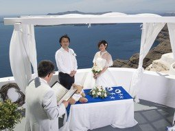 santorini wedding villa eirini