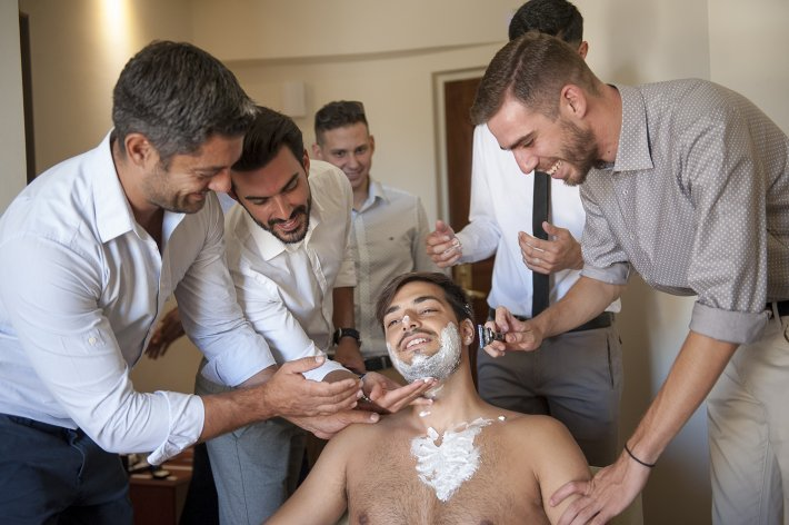 shave the groom tradition greece