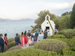 Orthodox chapel for Religious wedding in Athens Riviera Greece
