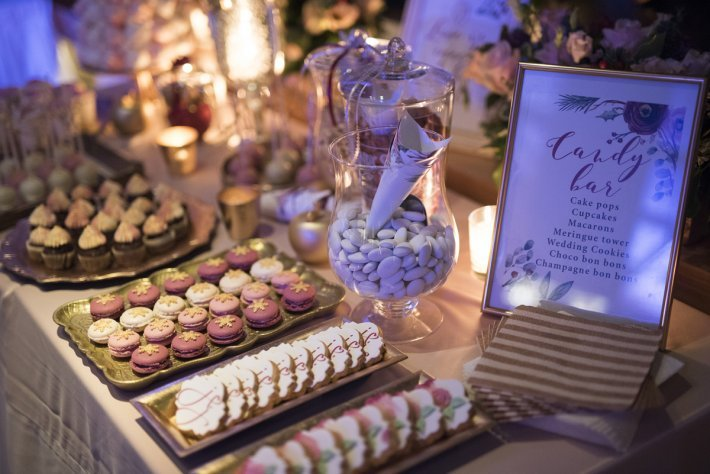 Candy bar for wedding in Greece